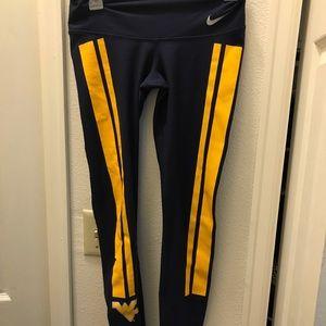 Nike West Virginia XS leggings